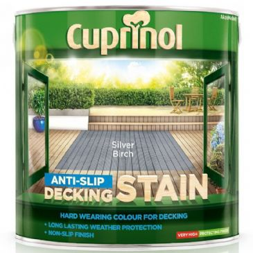 Cuprinol 2.5L Silver Birch decking stain